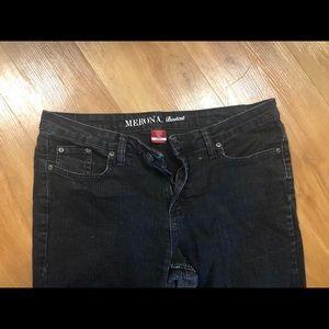 Bootcut black jeans